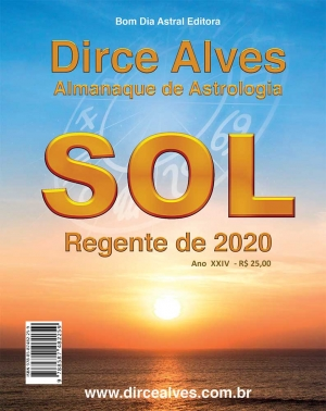 Almanaque de Astrologia 2020 - Dirce Alves - SOL